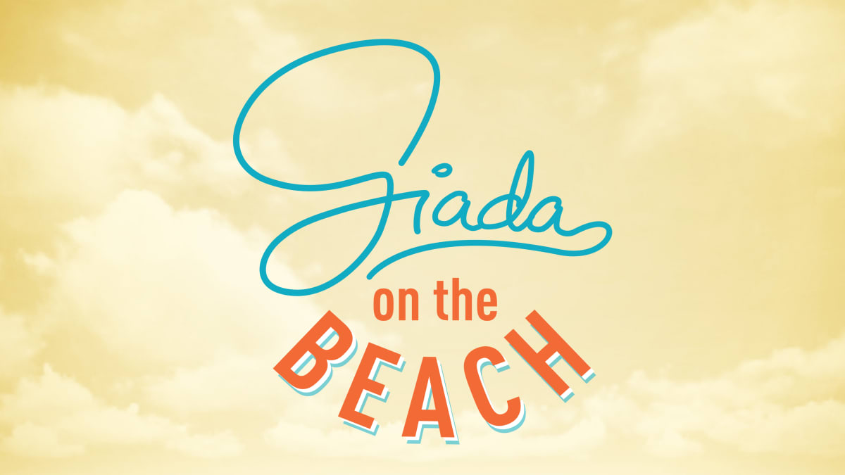 Giada is hosting her daughter's friends for the weekend at the beach house.
