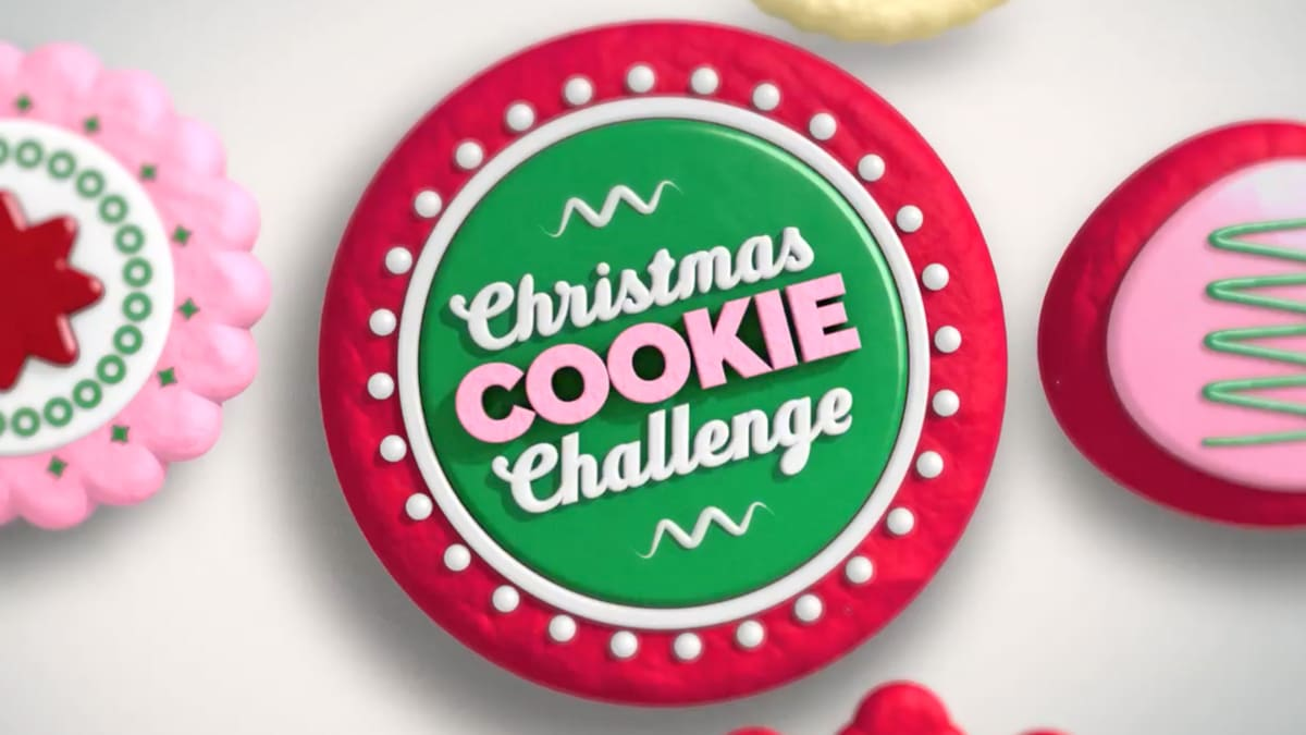 Five clever cookie makers must create custom Santas without cookie cutters.