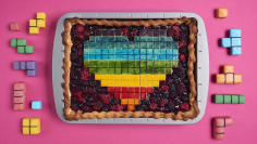 Pixelated Slab Pie