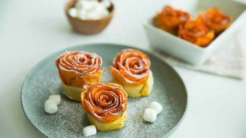 Sweet Potato Casserole Roses